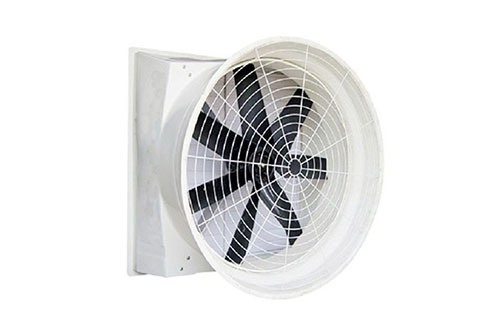 东莞厂房通风降温-玻璃钢负压风机